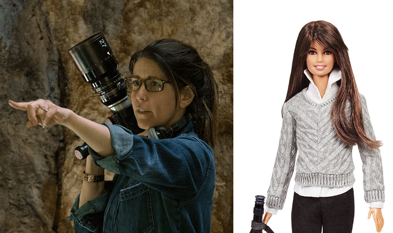 Patty Jenkins Barbie doll