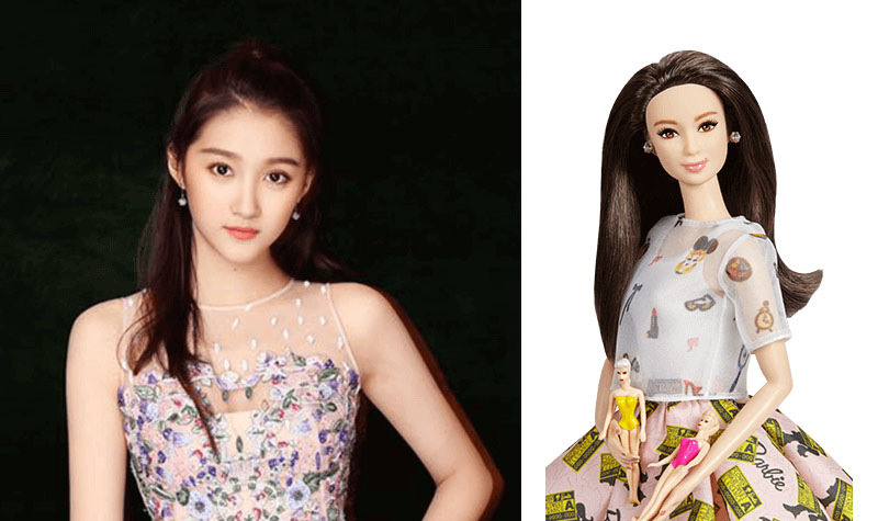 Xiaotong Guan Barbie doll