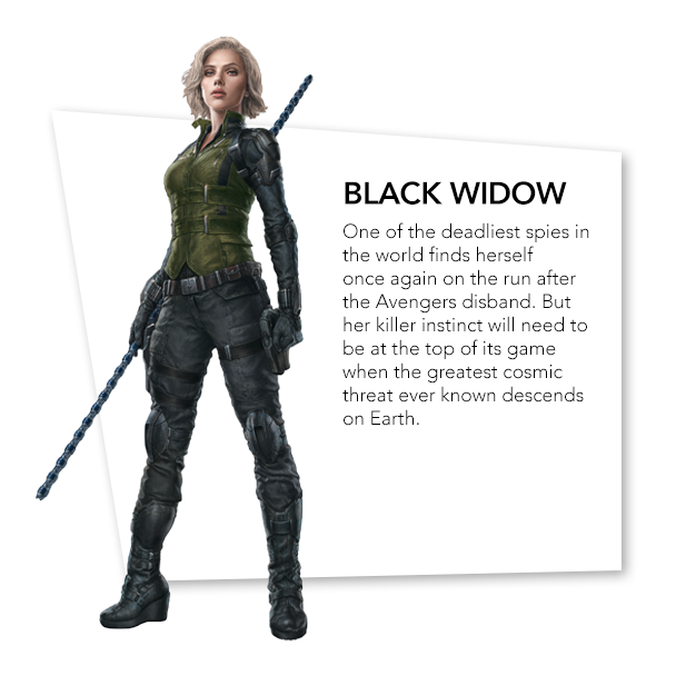 Avengers: Infinity War Black Widow