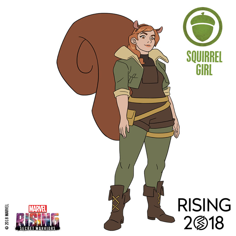 Marvel Rising Squirrel Girl