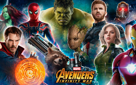 Avengers Infinity War theatrical posters and new official art