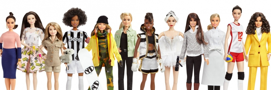 New Barbie role model dolls