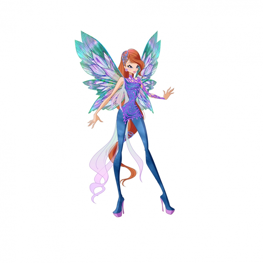 World of Winx picture of Bloom Dreamix transformation