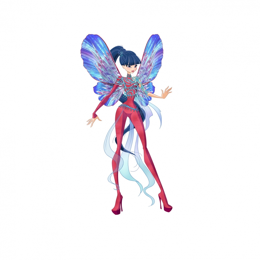 World of Winx picture of Musa Dreamix transformation