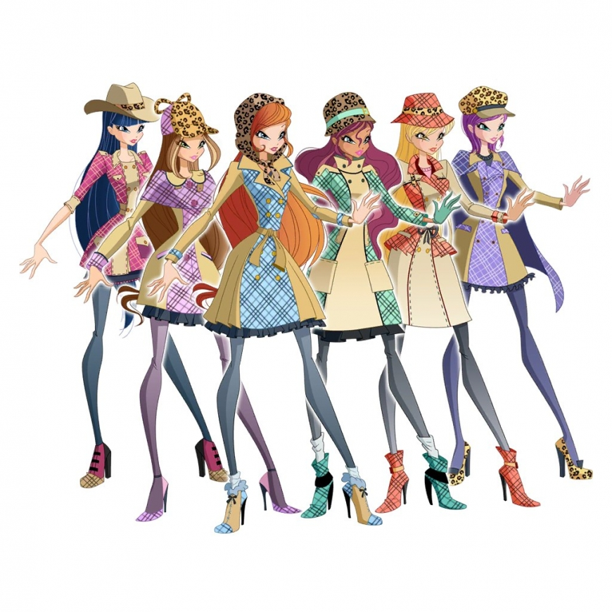 World of Winx fashion - detectives outfits