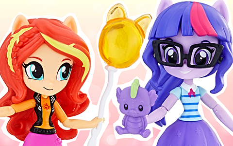 New My Little Pony Equestria Girls Minis  -  Theme Park Collection
