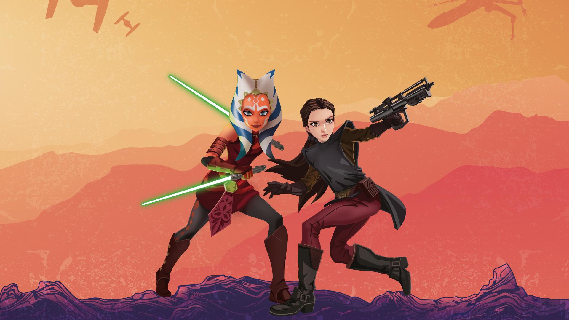 Star Wars Forces Of Destiny Desktop Wallpapers Youloveit Com