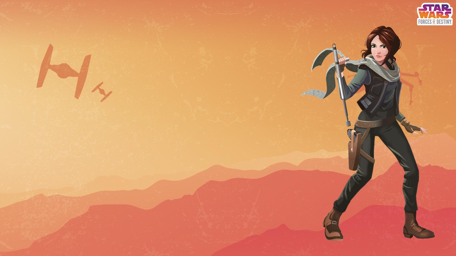 Star Wars Forces Of Destiny Desktop Wallpapers Youloveitcom