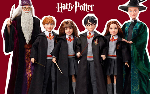 Mattel Harry Potter Collectible Action figure dolls 2018