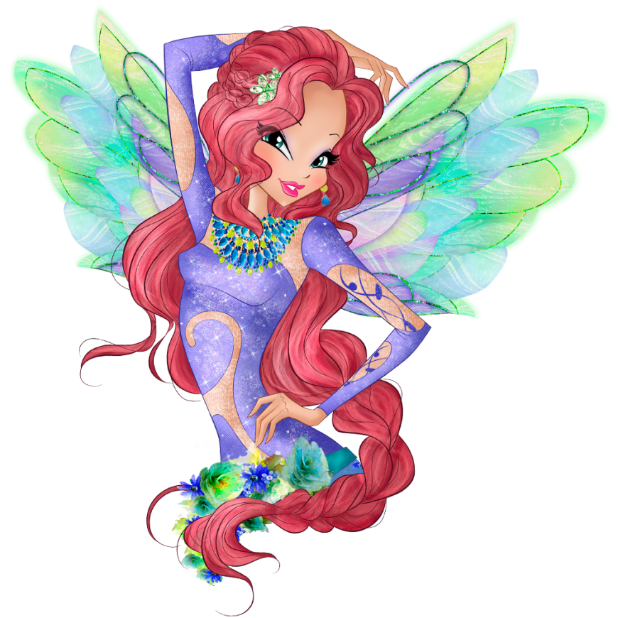 World of Winx onyrix transformation picture Layla png