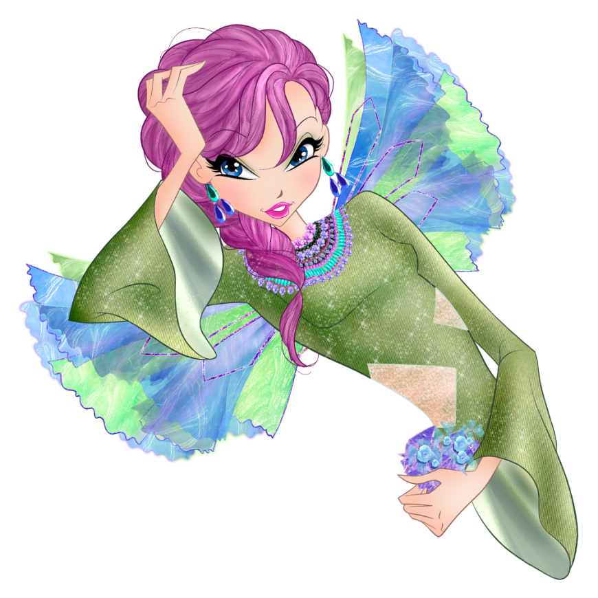 World of Winx onyrix transformation picture Tecna png