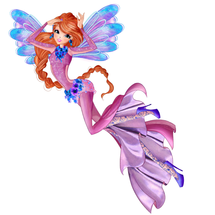World of Winx onyrix transformation picture Bloom png
