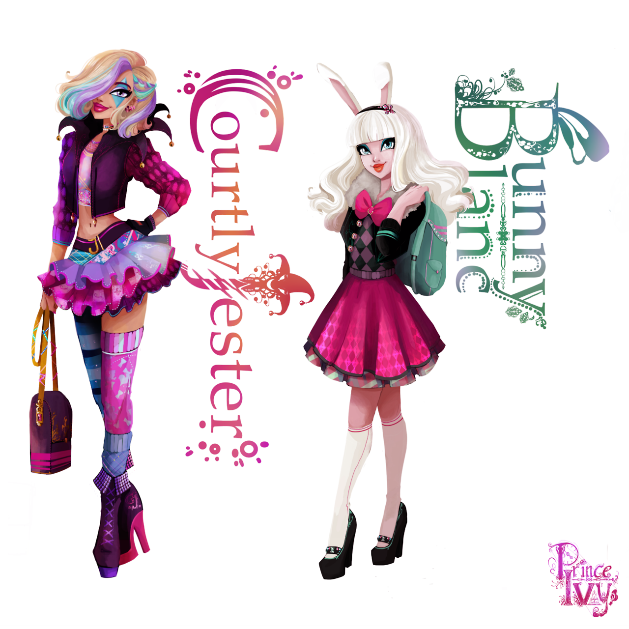This is a graphic of Magic Ever After High Characters