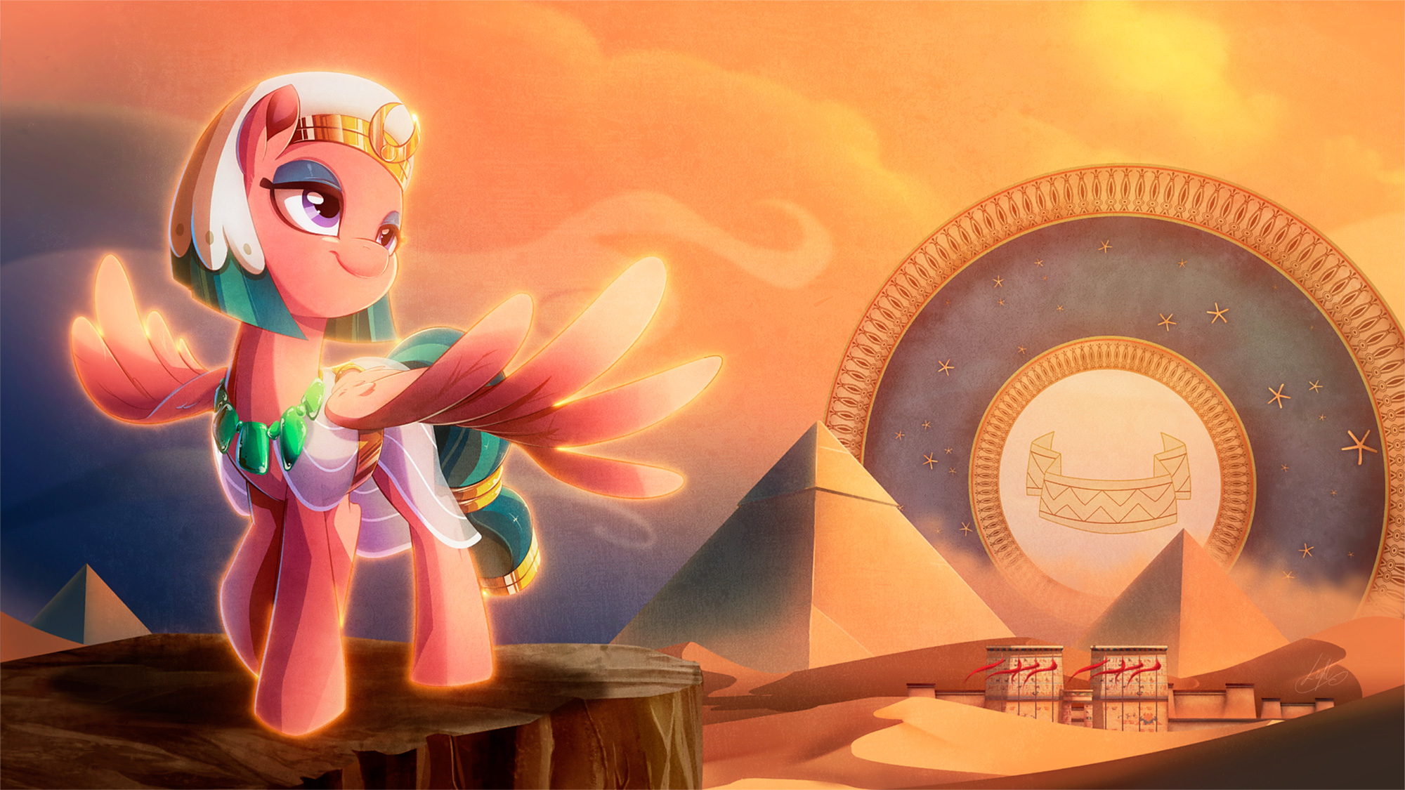 Epic wallpapers with Pillars of Equestria from My Little ...
