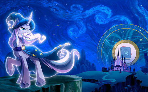 Epic wallpapers with Pillars of Equestria from My Little Pony