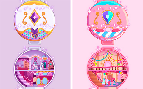 My Little Pony polly pockets designs