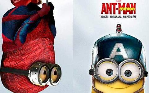 The Minions turned into Avengers