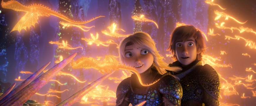 How to train your dragon 3 firsl official stills