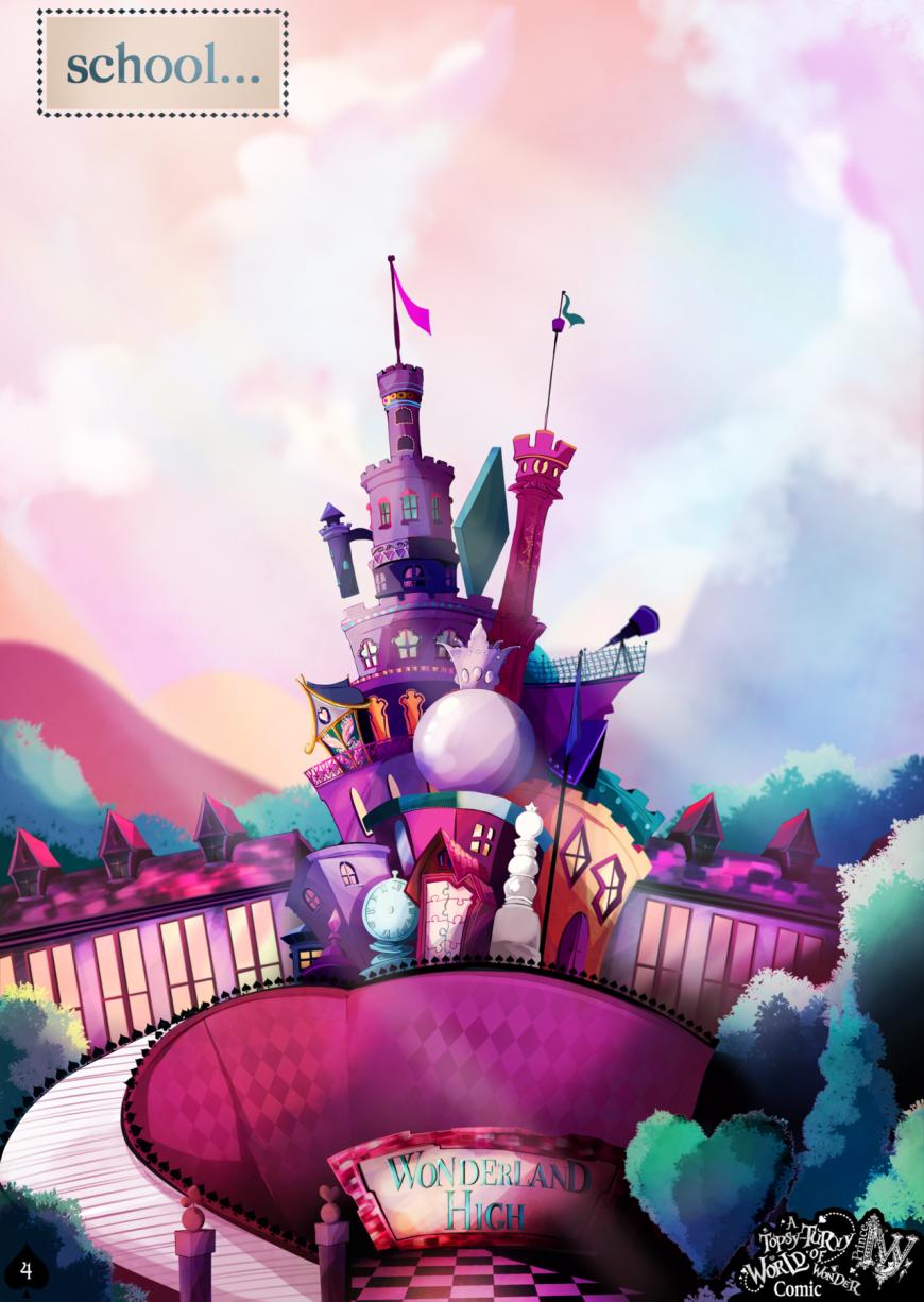 Topsy Turvy Wonderland - amazing fan made comics about ...