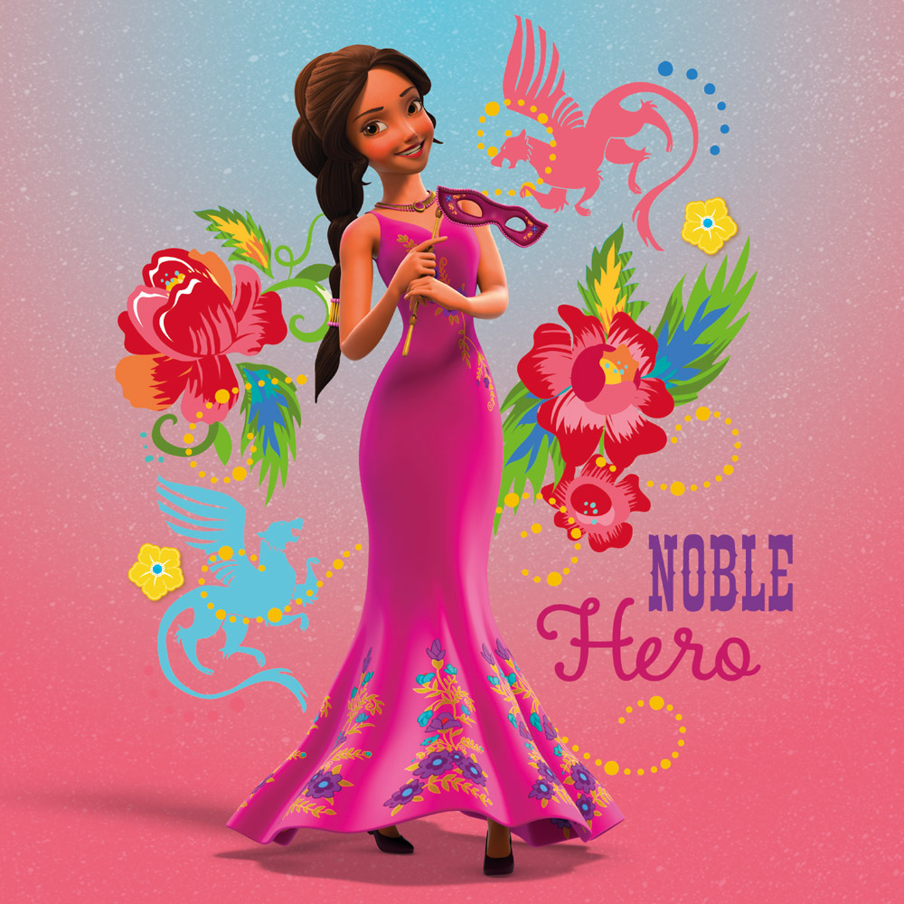 Elena Of Avalor New Official Arts Of Elena In Different