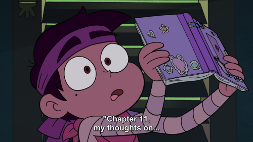 Official art and poem for Star the Queen of Mewni and chapter 11 from her diary!