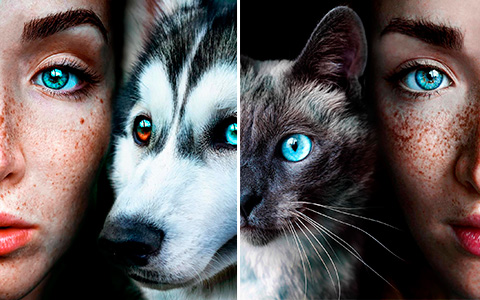 These close up photos with animals and nature will give you fantasy vibes