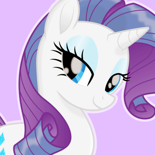 Rarity My little pony icons