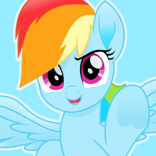 Rainbow Dash My little pony icons