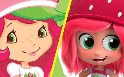 Strawberry Shortcake reboot 2019: New design VS old ones