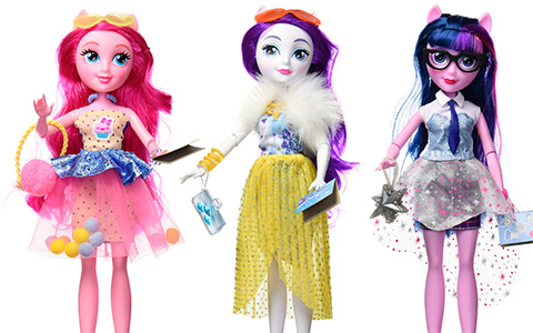 New Delux Equestria Girls dolls are ready for order