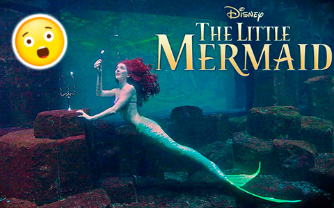 For the first time fan made Live action The Little mermaid shot entirely underwater!