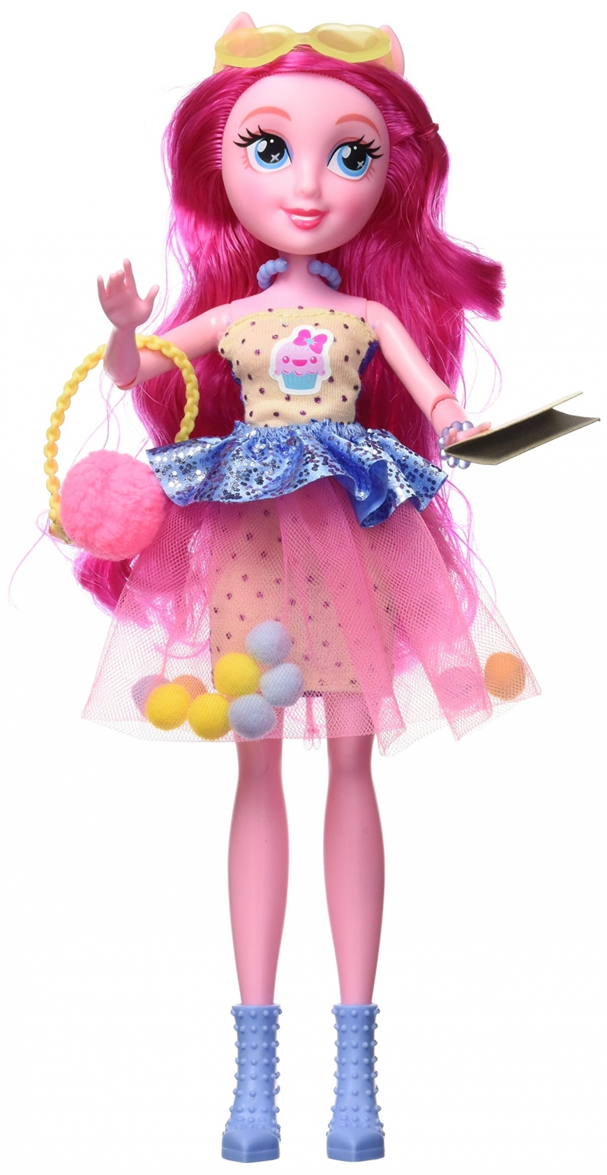 Equestria Girls Deluxe Pinkie Pie Fashion Doll