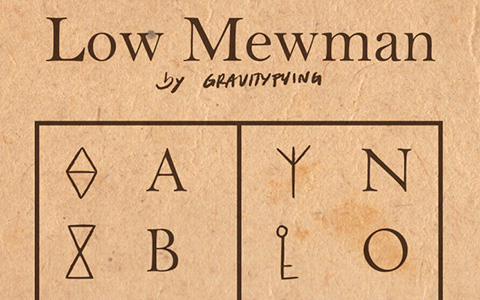 Decoder for the Low Mewman alphabet from the Star vs the Forces of Evil
