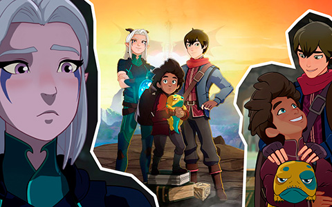 All things you need to know before watch The Dragon Prince on Netflix