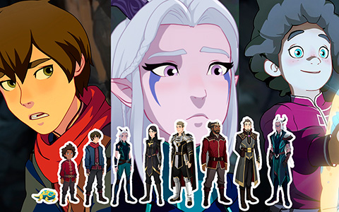 Meet The Dragon Prince characters