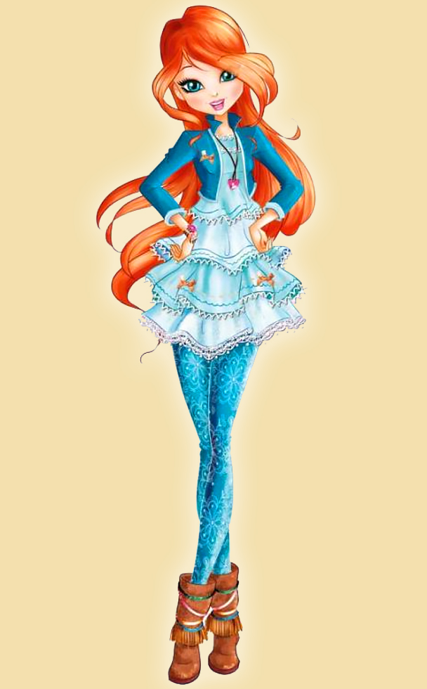 Winx Club Bloom season 8 outfit