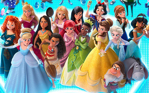 Phone Wallpapers Disney Princesses Ralph Breaks The Internet In Comfy Clothes Youloveit Com