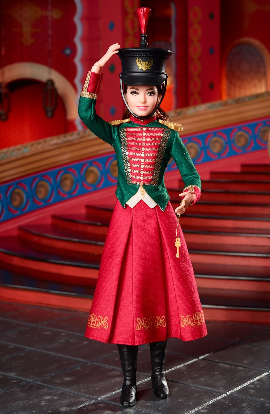 Disney Clara's Soldier Uniform Barbie The Nutcracker and the Four Realms Doll