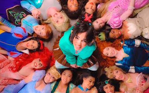 Disney Princesses Wreck-It Ralph in Real Life