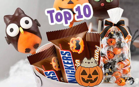 Top 10 Halloween Candy treats 2018