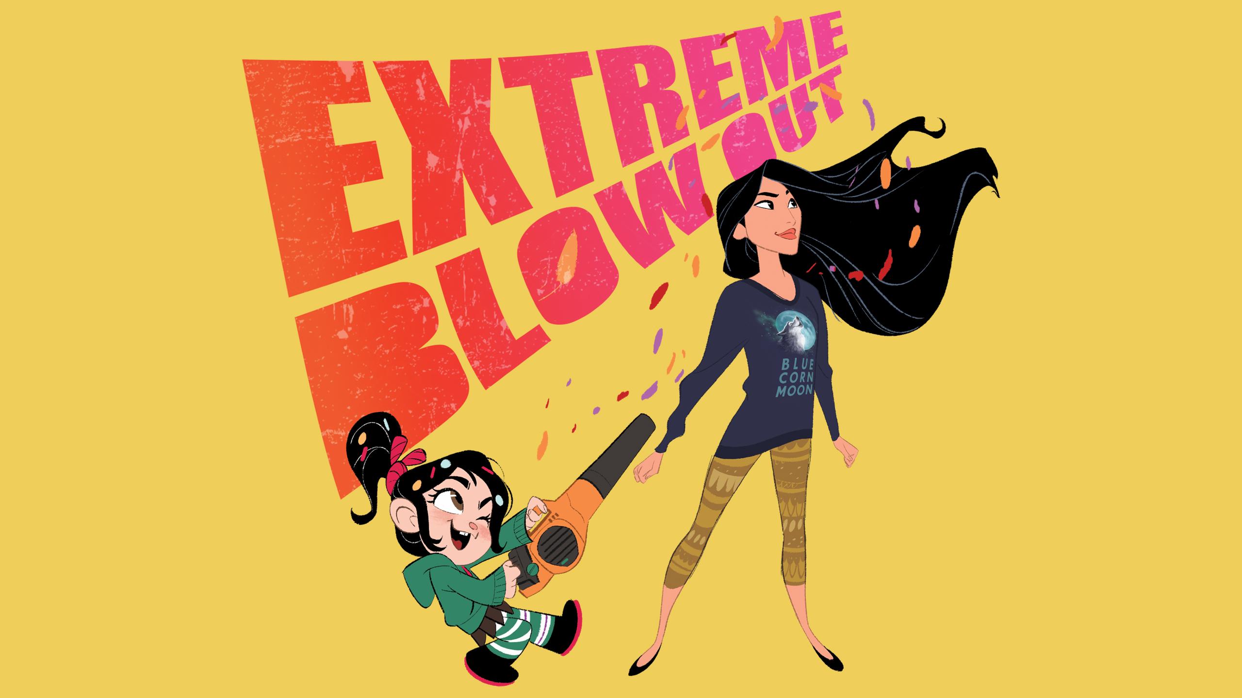 Ralph Breaks The Internet Disney Princess Wallpaper Vanellope And Pocahontas