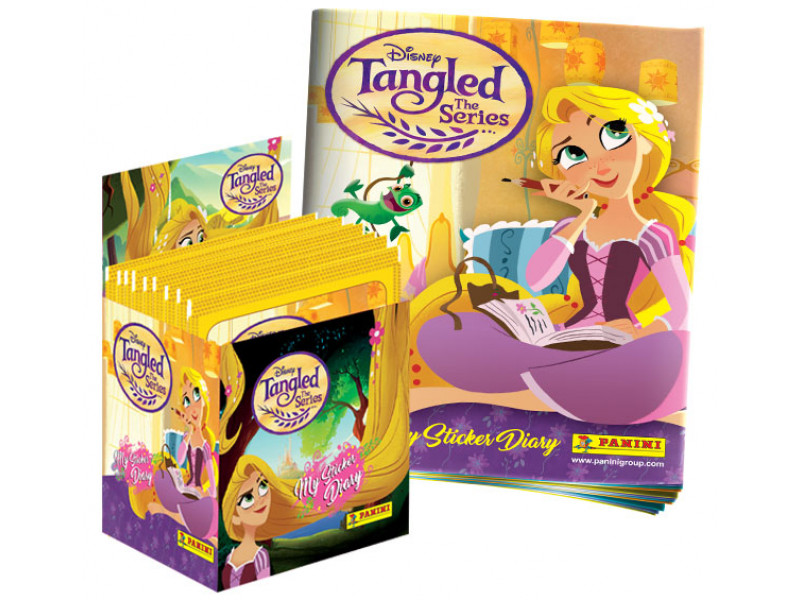 Disney Tangled: The Series (Rapunzel's Tangled Adventure) Panini Sticker Collection