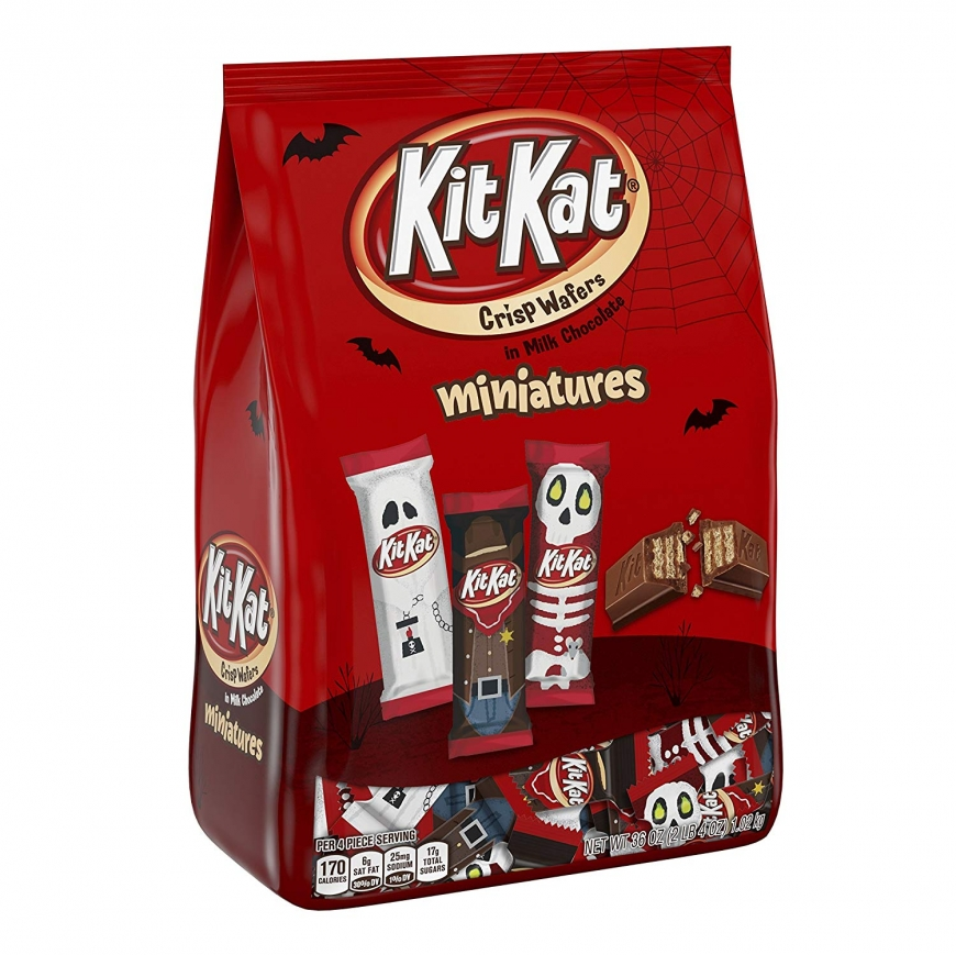 KIT KAT Halloween Spooky Miniatures, Perfect for Halloween Decorations