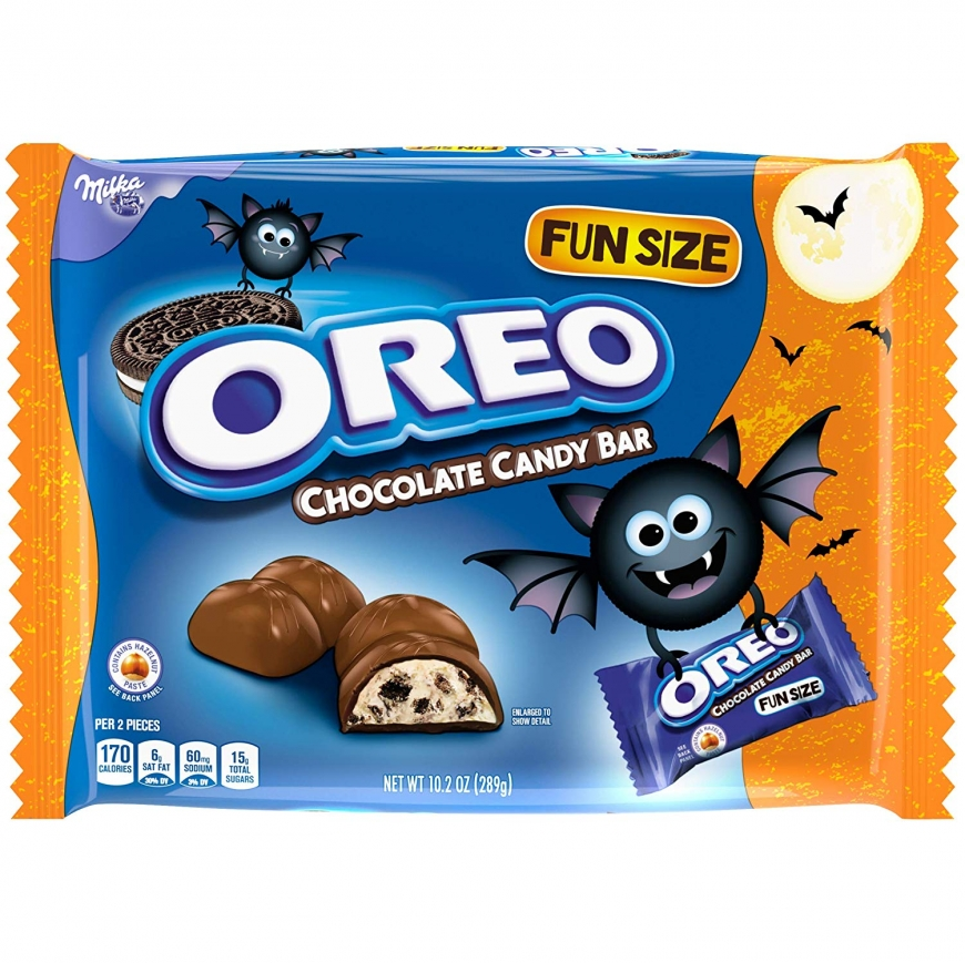 Oreo Chocolate Candy Bars Halloween Candy