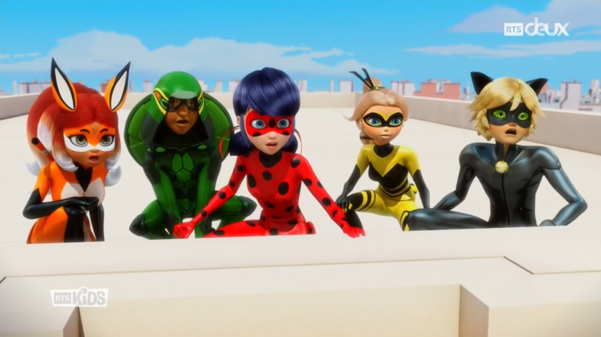 Miraculous Ladybug Catalyst (Heroes' Day - Part 1) episode in pictures. Spoilers!