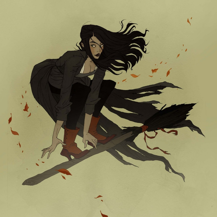 Beauty about dreadful: 100% Halloween art from Abigail Larson