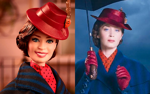 Mary Poppins Returns Barbie dolls in hd photos