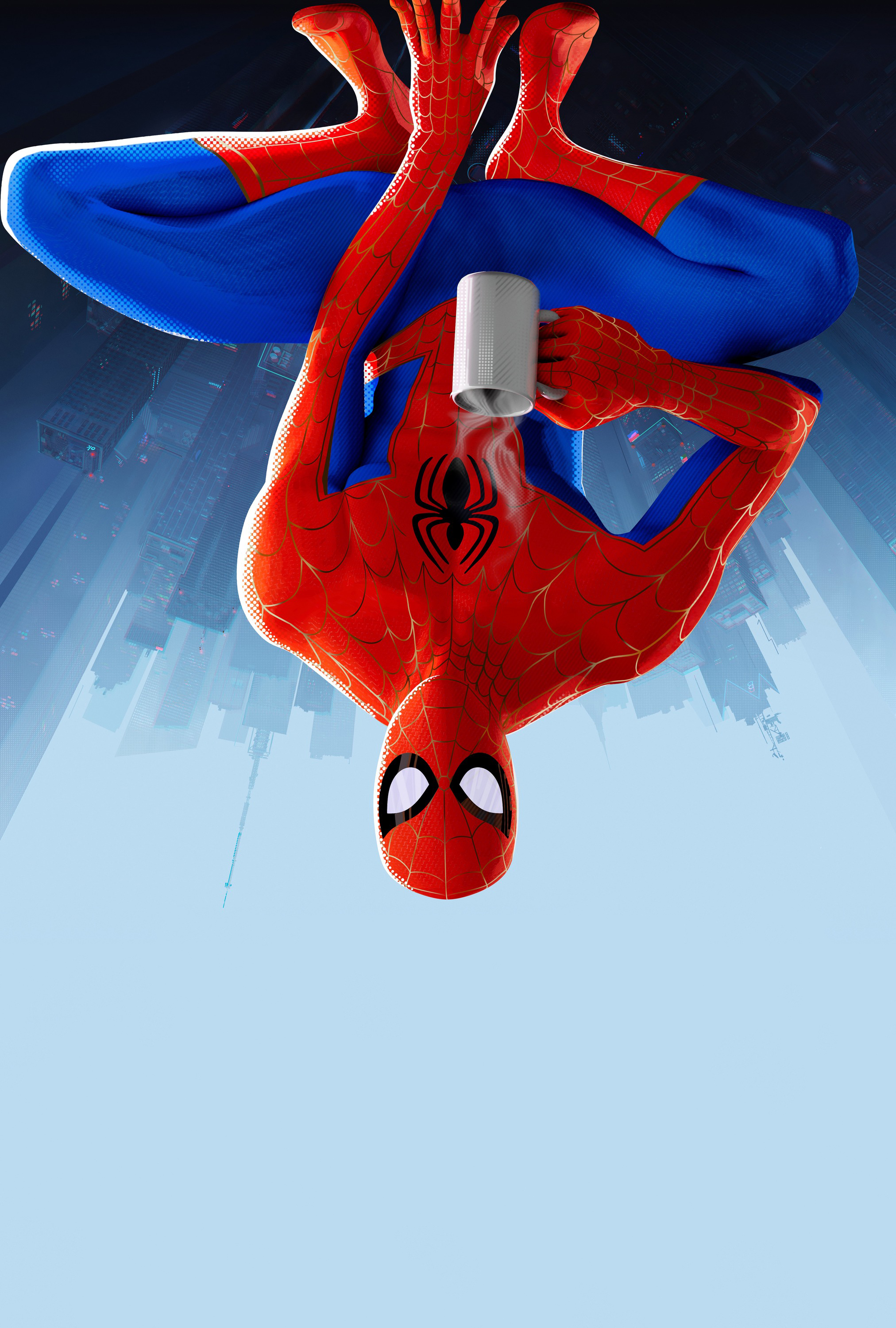 All Six Spiders In Spider Man Into The Spider Verse Big Hd Posters