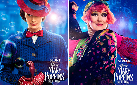 Big Mary Poppins Returns character posters