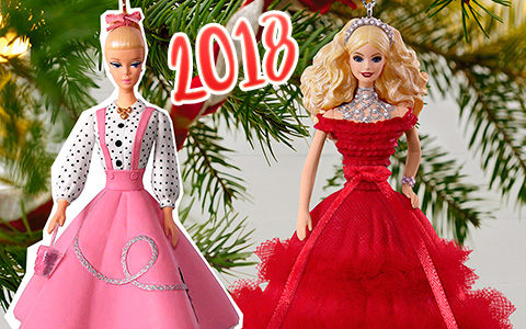 Barbie Christmas tree ornaments 2018